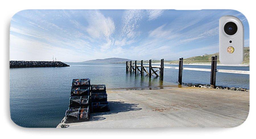 Eriskay Scotland IPhone 8 Case featuring the photograph Eriskay by Smart Aviation