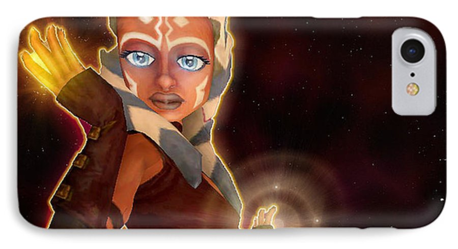 info for eba13 9bf0f Ahsoka Tano IPhone 8 Case
