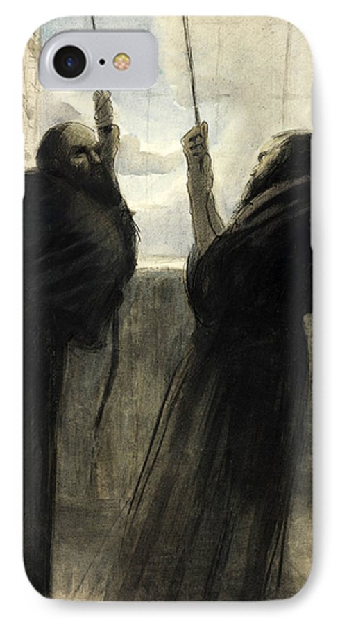 Bethlehem IPhone 8 Case featuring the photograph Christmas Eve 1917 by Munir Alawi