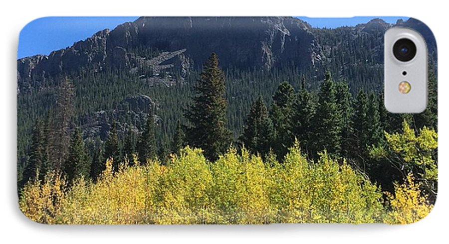 Landscape IPhone 8 Case featuring the photograph Fall at Twin Sisters by Kristen Anna