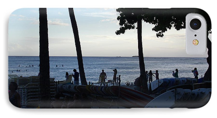 Hawaii IPhone 8 Case featuring the photograph Hawaiian Afternoon by Daniel Sauceda