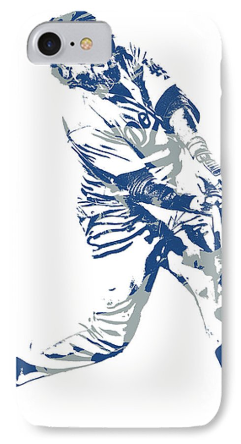 Justin Turner Los Angeles Dodgers Pixel Art 10 IPhone 8 Case