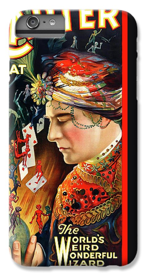 Antique IPhone 8 Plus Case featuring the digital art Carter The Great by Gary Grayson