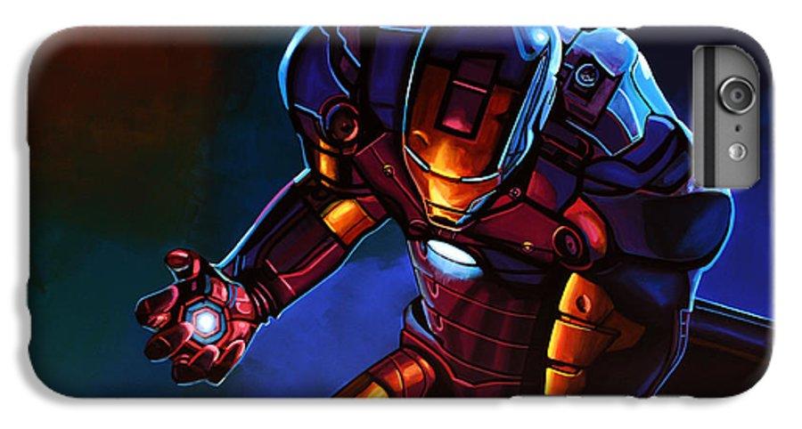 in stock eb546 0afe0 Iron Man IPhone 8 Plus Case