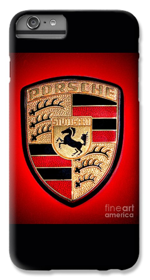 big sale 1c900 7bd1c Old Porsche Badge IPhone 8 Plus Case