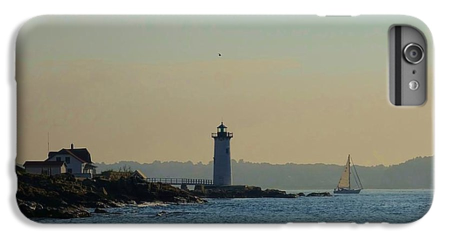 Portsmouth IPhone 8 Plus Case featuring the photograph Portsmouth Harbor Lighthouse by Red Cross