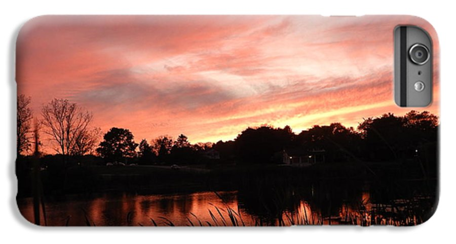 Sunset IPhone 8 Plus Case featuring the photograph Sunset On The Shoreline by Red Cross