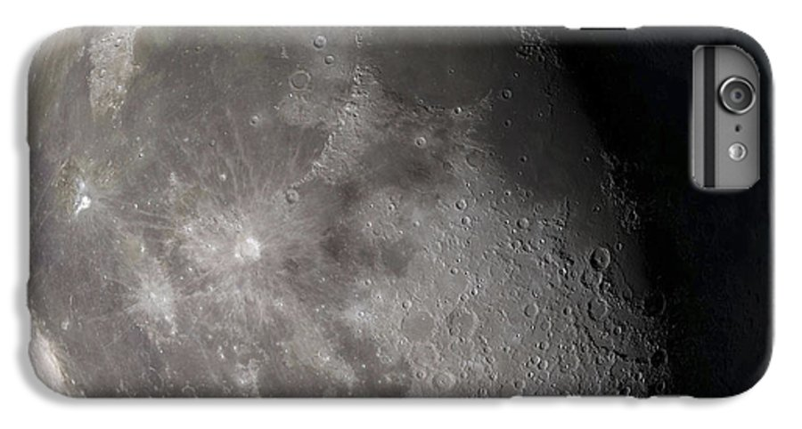 Gibbous Moon IPhone 8 Plus Case featuring the photograph Waning Gibbous Moon by Stocktrek Images