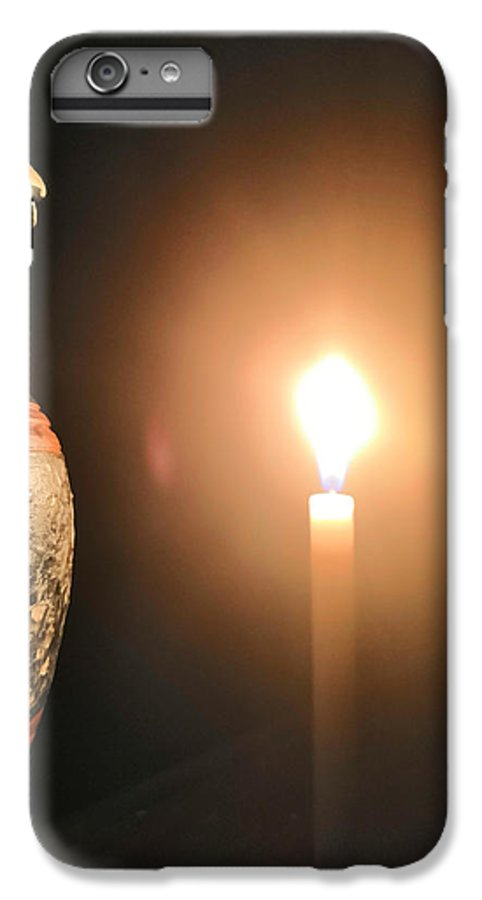 Candle Light IPhone 8 Plus Case featuring the photograph Light in the dark by Ian Batanda