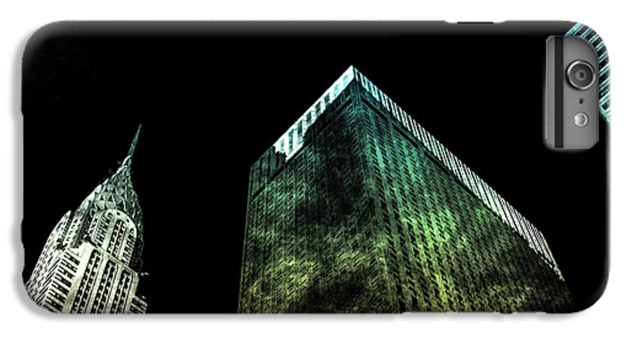 American IPhone 8 Plus Case featuring the digital art Urban Grunge Collection Set - 02 by Az Jackson