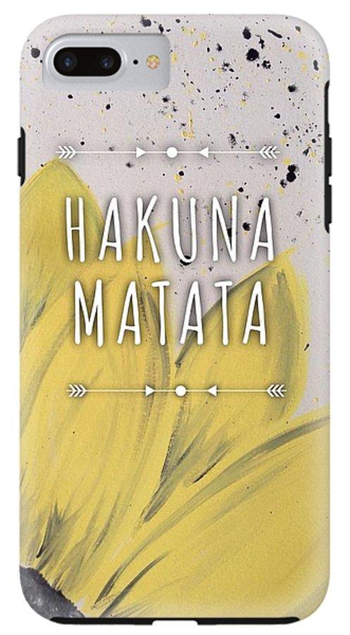 Hakuna Matata IPhone 8 Plus Tough Case