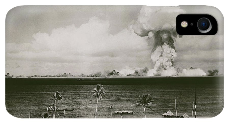 Able Day Bikini Test IPhone XR Case featuring the photograph Atomic Explosion At Bikini Atoll by Us National Archives/science Photo Library