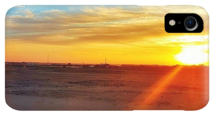 Sunset IPhone XR Case featuring the photograph Sunset In Egypt by Usman Idrees