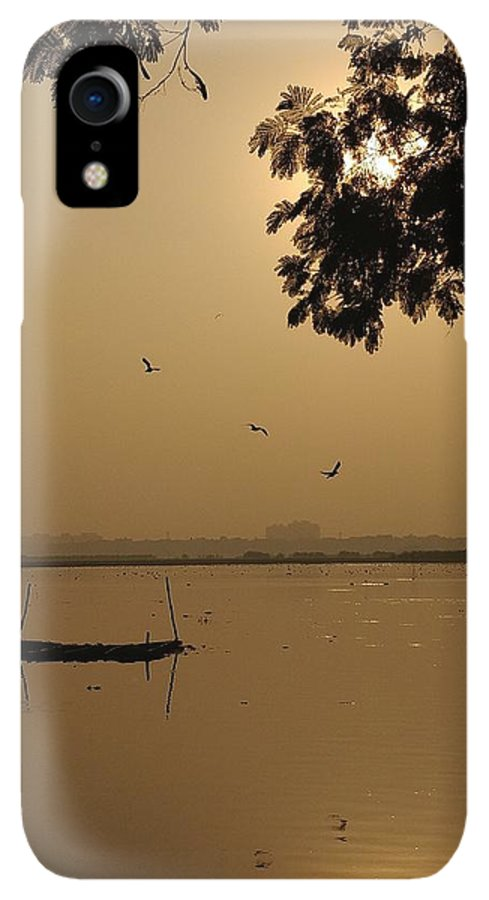 Sunset IPhone XR Case featuring the photograph Sunset by Priya Hazra