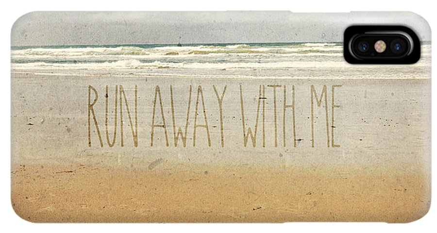 Run Away With Me Sand Sea Beach Waves Iphone Xs Max Case