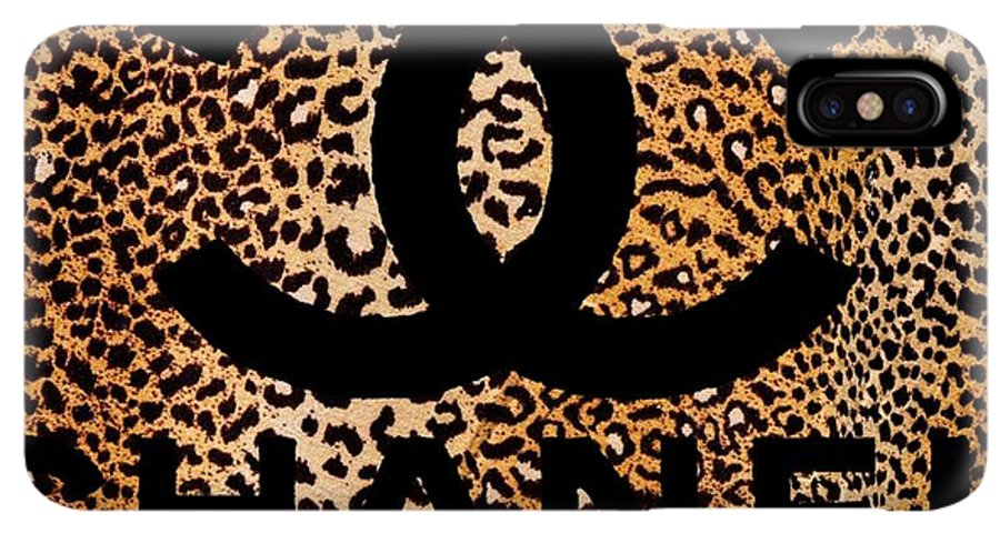 size 40 bc62b 6ef57 Chanel Leopard 5 IPhone XS Max Case