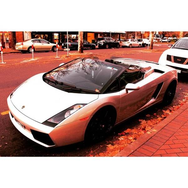 This Lamborghini Gallardo Spyder Looked Poster By Anthony Croke