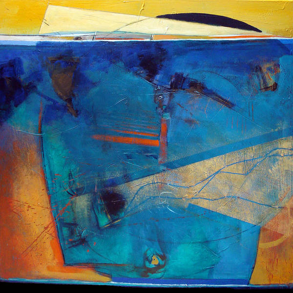 Abstract Poster featuring the painting Acknowledgement by Dale Witherow