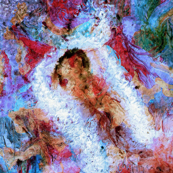 Abstract Poster featuring the painting Fifth Bardo by Dominic Piperata
