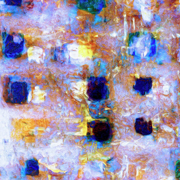 Abstract Poster featuring the painting Hard Eight by Dominic Piperata