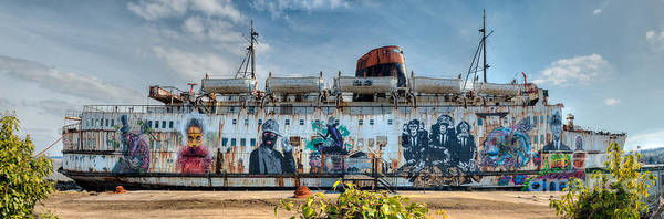 Duke Of Lancaster Poster featuring the photograph The Duke Of Graffiti by Adrian Evans