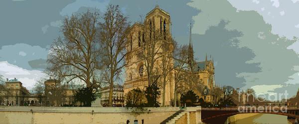 Paris Poster featuring the photograph Paris 03 by Yuriy Shevchuk