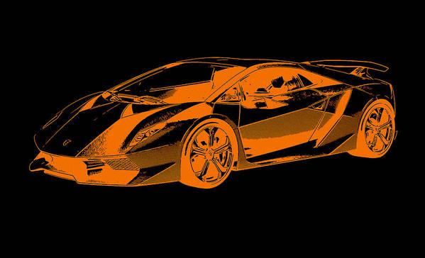 Lamborghini Sesto Elemento Poster By Andrea Mazzocchetti
