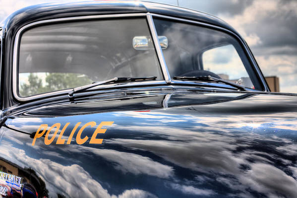 Police Car Poster featuring the photograph The Paddy Wagon by JC Findley