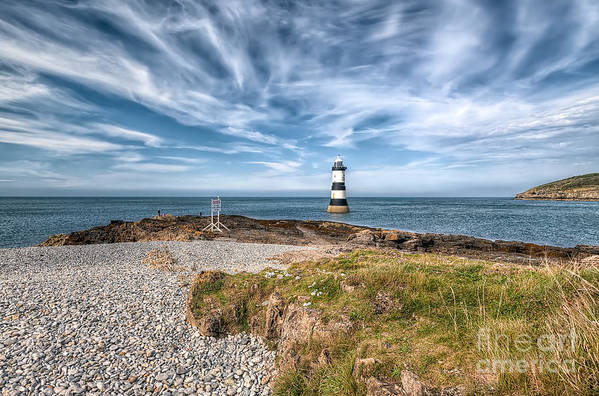 Anglesey Poster featuring the photograph Penmon Point by Adrian Evans