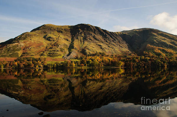 Buttermere Lake Poster featuring the photograph Buttermere by Smart Aviation