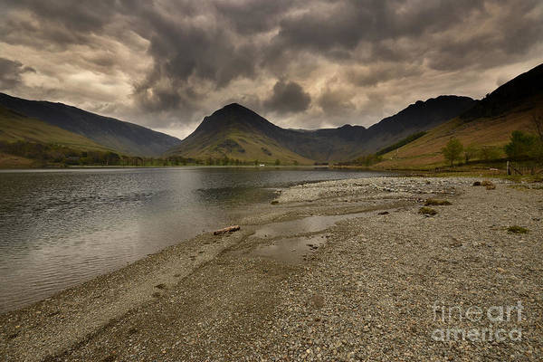 Buttermere Poster featuring the photograph Buttermere by Smart Aviation