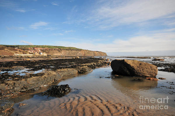 Robin Hoods Bay Poster featuring the photograph Robin Hoods Bay by Smart Aviation