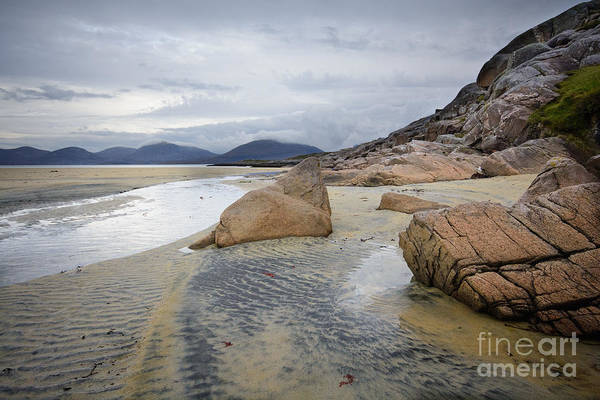 Isle Of Harris Poster featuring the photograph Luskentyre, Isle Of Harris by Smart Aviation