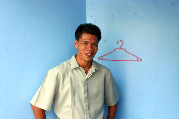 Philippines Poster featuring the photograph Coat Hanger Smile 2 by Jez C Self