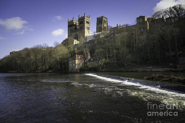 Durham Cathedral Poster featuring the photograph Durham Cathedral by Smart Aviation
