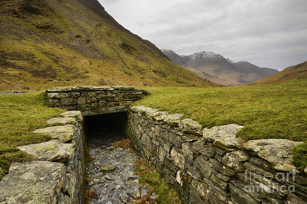 Honister Pass Poster featuring the photograph Honister Pass by Smart Aviation