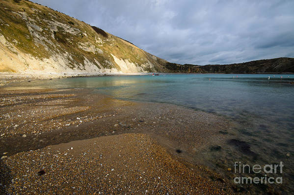 Dorset Poster featuring the photograph Lulworth Cove by Smart Aviation
