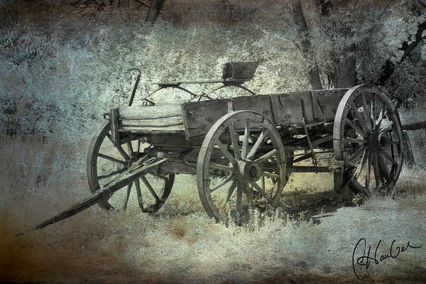 Wagon Poster featuring the photograph Old Wagon by Christine Hauber