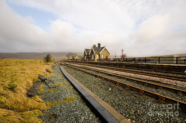 Ribblehead Viaduct Poster featuring the photograph Ribblehead Station by Smart Aviation