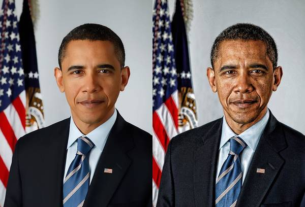 Obama Poster featuring the photograph Perceptions by Kevin Sherf