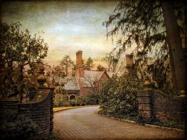 House Poster featuring the photograph Beyond The Gates by Jessica Jenney
