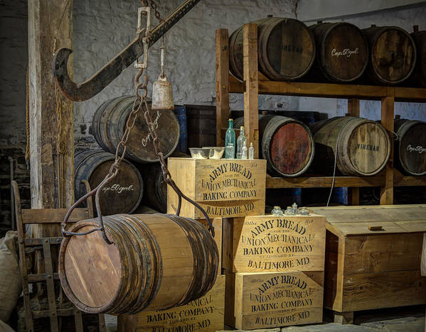 Barrel Poster featuring the photograph Barrels by James Barber