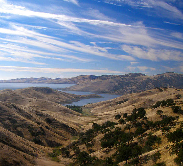Water Poster featuring the photograph San Luis Reservior, California by Tara Schendel