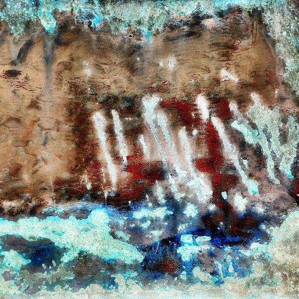 Abstract Poster featuring the photograph Coral Reef 2 by Tom Druin