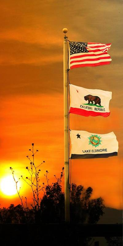 Poster featuring the photograph California Glory by Richard Gordon