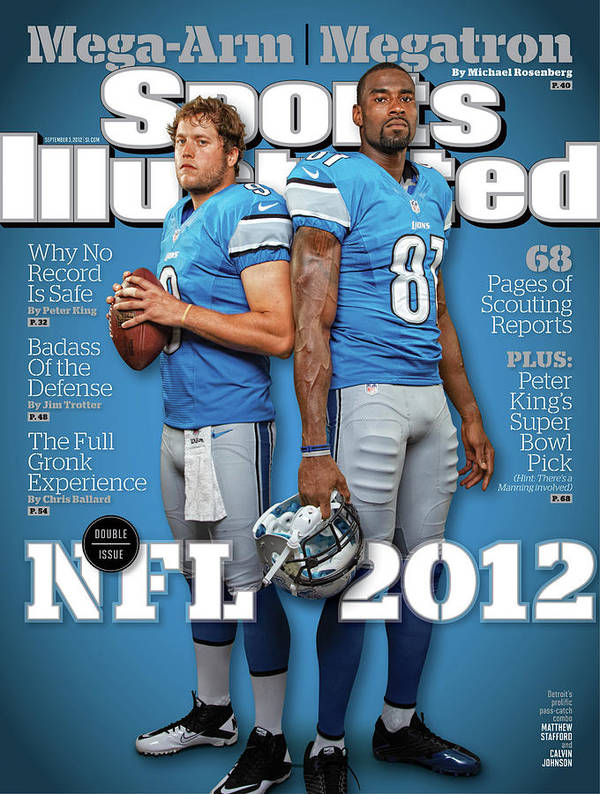 Magazine Cover Poster featuring the photograph 2012 Nfl Football Preview Issue Sports Illustrated Cover by Sports Illustrated