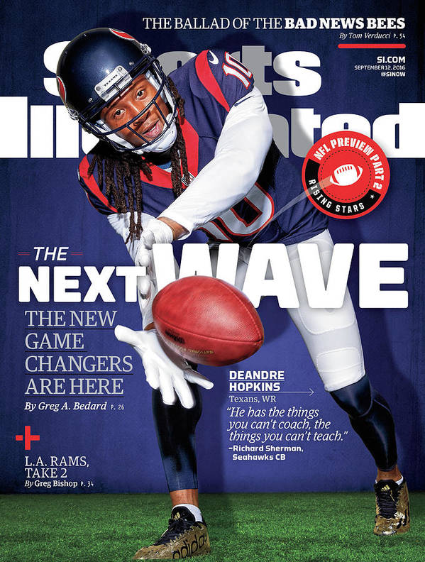 Magazine Cover Poster featuring the photograph The Next Wave The New Game Changers Are Here Sports Illustrated Cover by Sports Illustrated