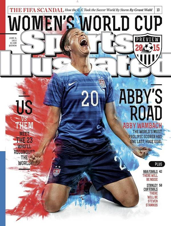 Magazine Cover Poster featuring the photograph Abbys Road Us Vs. Them, Meet The 23 Wholl Reconquer The Sports Illustrated Cover by Sports Illustrated