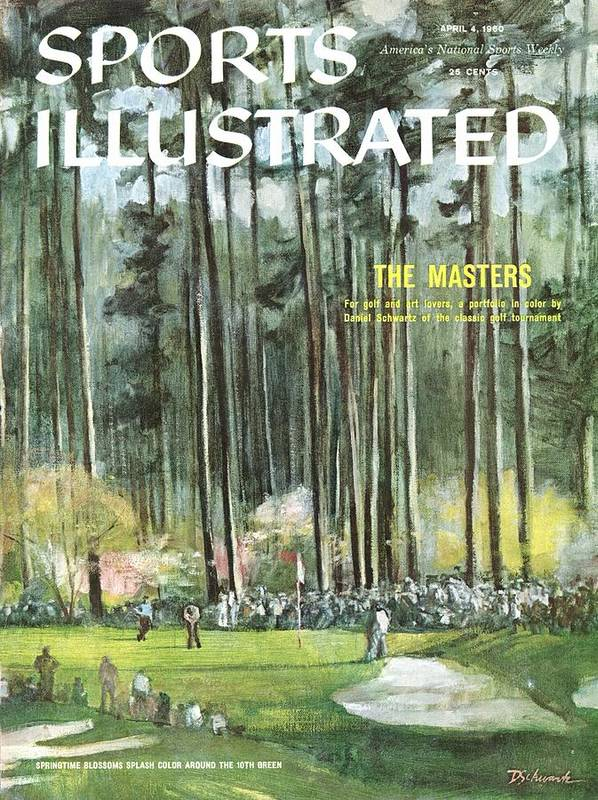 Magazine Cover Poster featuring the photograph Augusta National Golf Course, 1960 Masters Preview Sports Illustrated Cover by Sports Illustrated