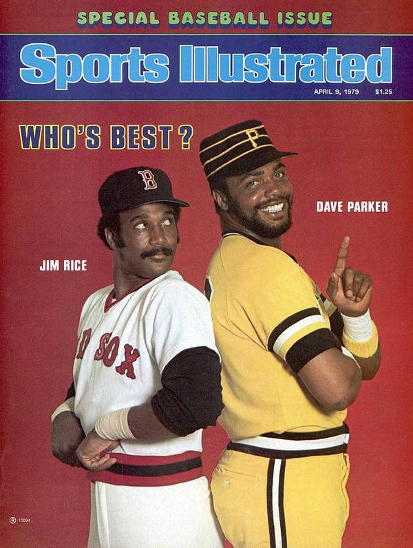 Season Poster featuring the photograph Boston Red Sox Jim Rice And Pittsburgh Pirates Dave Parker Sports Illustrated Cover by Sports Illustrated
